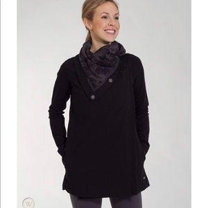 LULULEMON Seabed Savasana Wrap Jacket Black 4